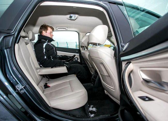 Audi A5 Sportback тест драйв низкий, приходится принимать