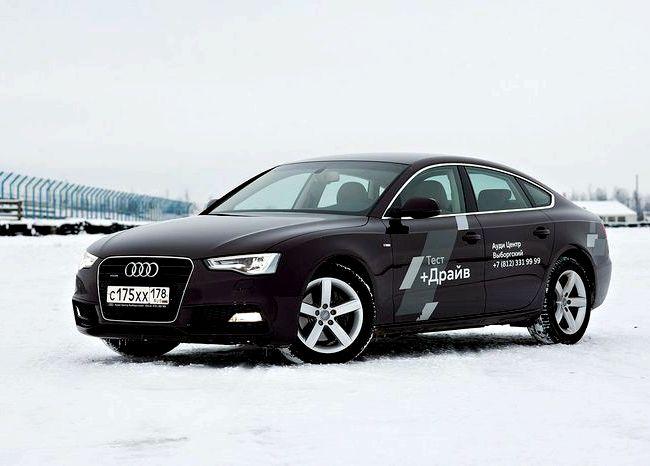 Audi A5 Sportback тест драйв