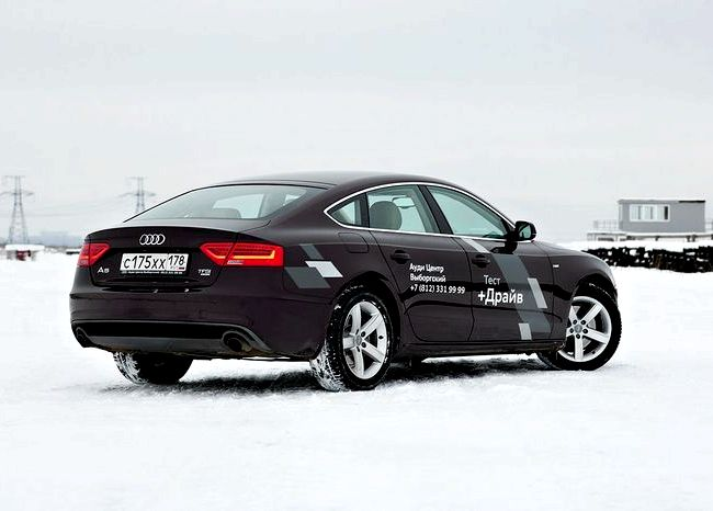 Audi A5 Sportback тест драйв Audi A5 Sportback