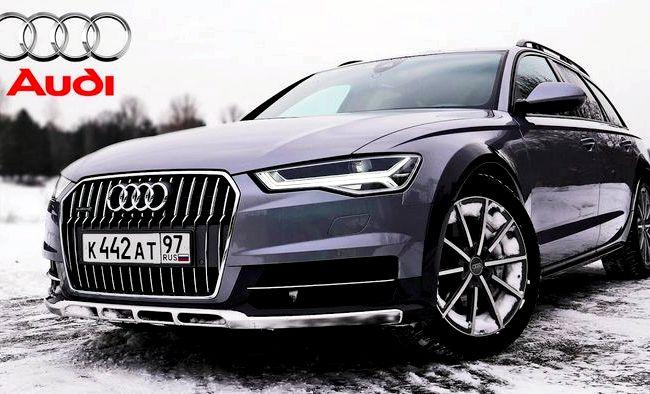 Audi A6 Allroad Quattro тест драйв об эффективных органических светодиодах