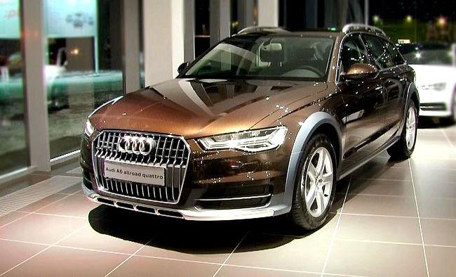 Audi A6 Allroad Quattro тест драйв