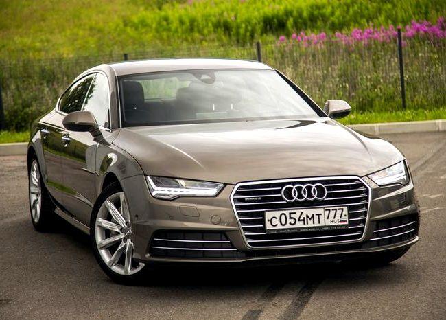 Audi A6 тест драйв