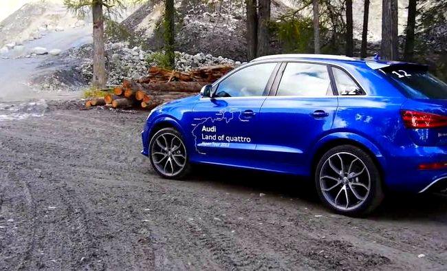 Audi Q3 тест драйв Оказывается, эффект от