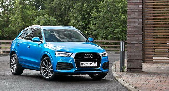Audi Q3 тест драйв