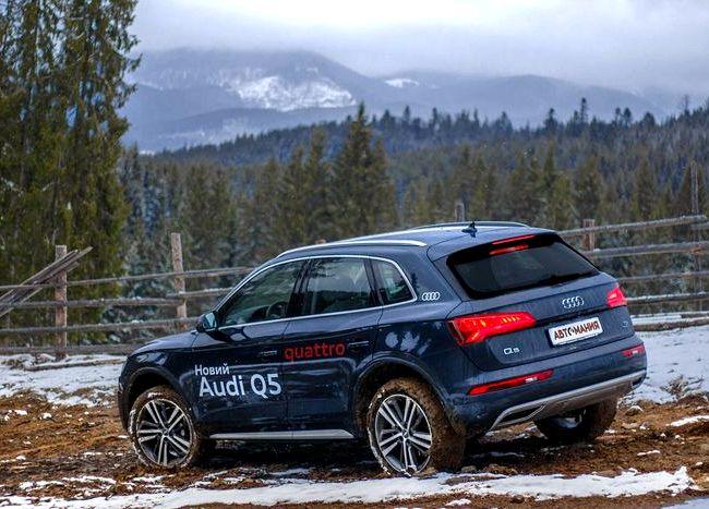 Audi Q5 2017 тест драйв