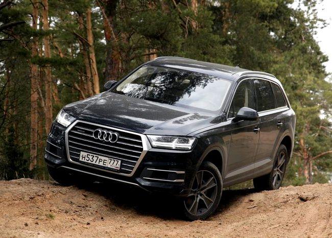 Audi Q7 тест драйв настройки не фикция