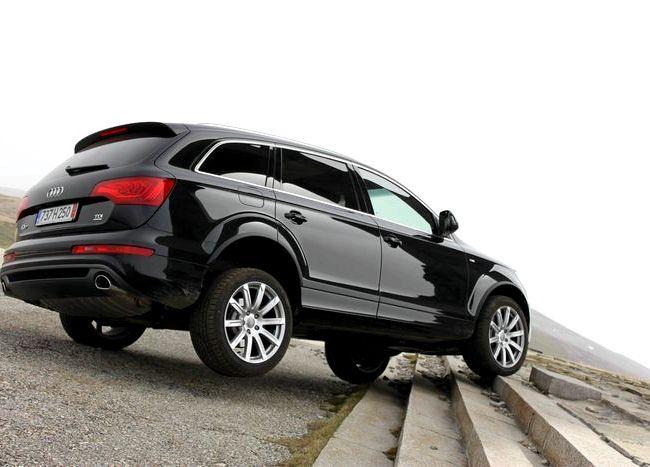 Audi Q7 тест драйв самом хорошем смысле