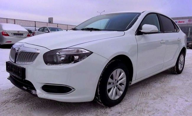 Brilliance H530 тест драйв видео