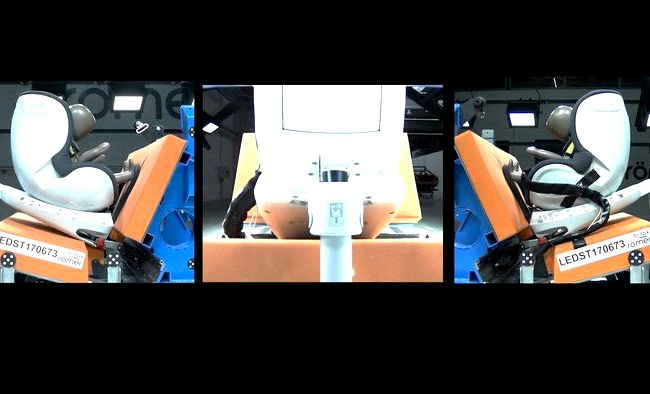 Britax Romer Dualfix краш тест