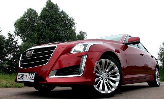Cadillac Cts тест драйв На нашей