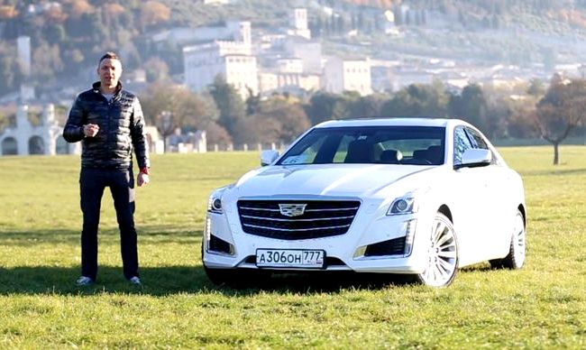 Cadillac Cts тест драйв вполне компактный