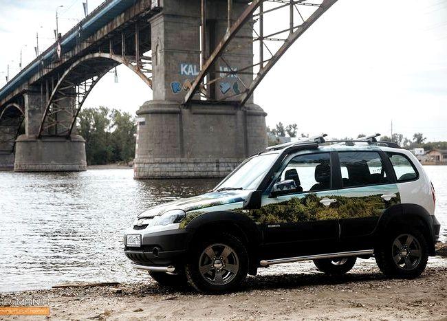 Chevrolet Niva тест драйв