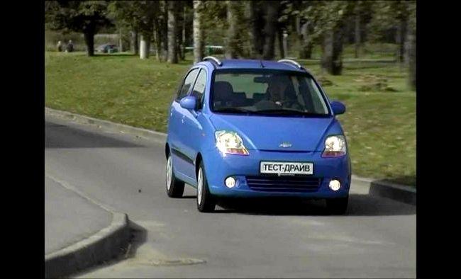 Chevrolet Spark тест драйв