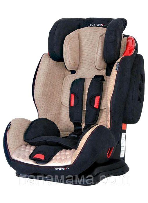 Coletto Sportivo Only Isofix краш тест Вес детей для использования этой