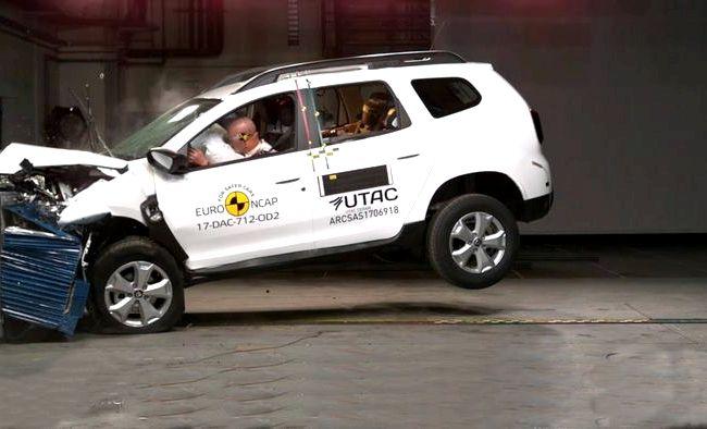 Duster Renault краш тест Но хуже всего дело