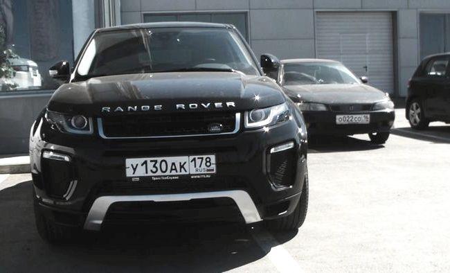 Evoque Range Rover тест драйв
