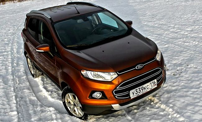 Ford Ecosport видео тест драйв