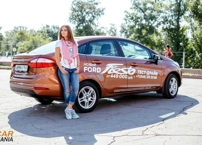 Форд Фиеста тест драйв