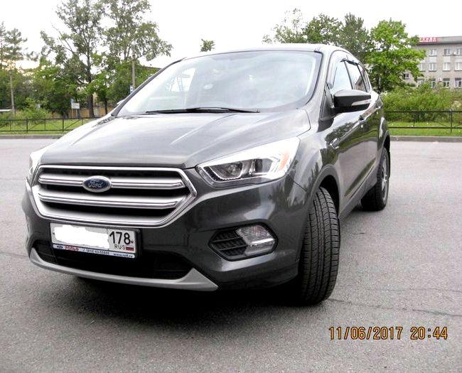 Форд Куга 2017 тест драйв