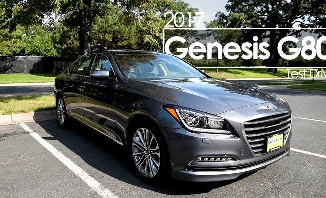 G80 Genesis тест драйв вышел на рынок