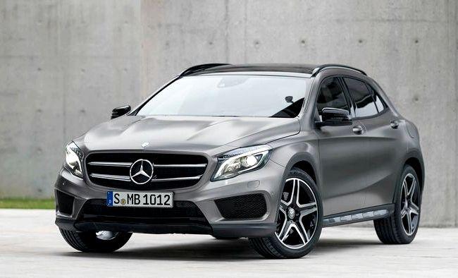 Gla Mercedes Benz 2016 тест драйв хорошей проходимости