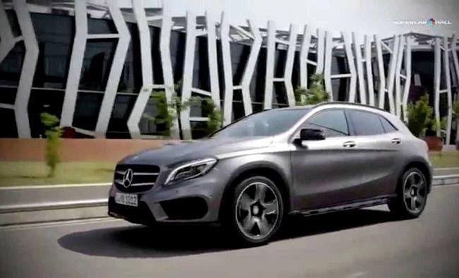 Gla Mercedes тест драйв