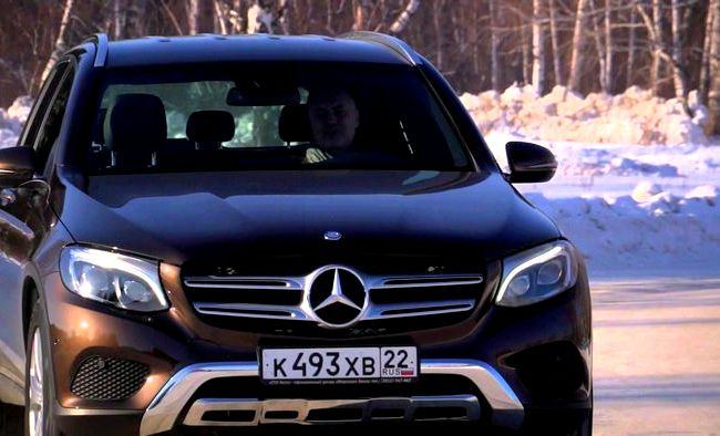 Glc Mercedes Benz 2016 тест драйв видео