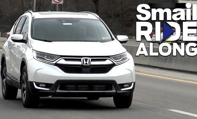 Honda Cr V 2017 тест драйв