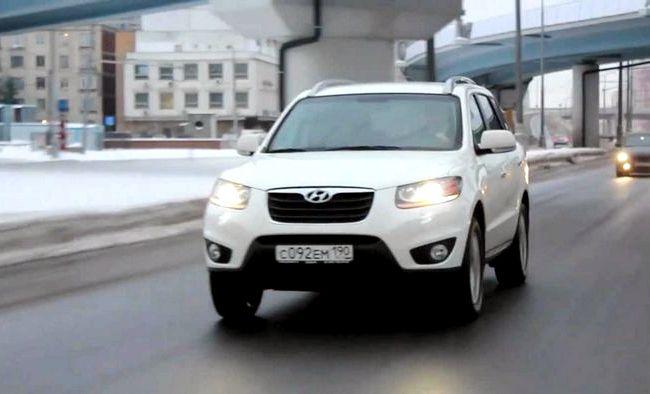 Hyundai Santa Fe тест драйв