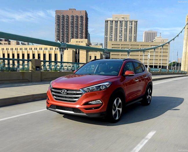 Hyundai Tucson 2017 тест драйв