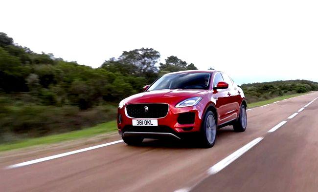 Jaguar E Pace тест драйв видео
