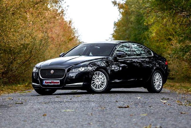 Jaguar Xf тест драйв