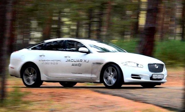 Jaguar Xj тест драйв