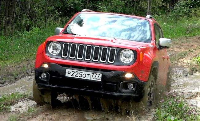 Jeep Renegade тест драйв