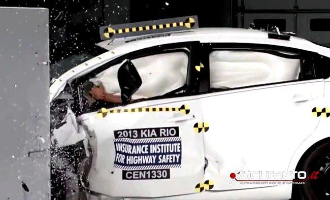 Киа Рио 3 краш тест