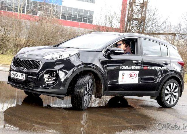 Kia Sportage тест драйв Благодаря увеличенной колесной базе, задние