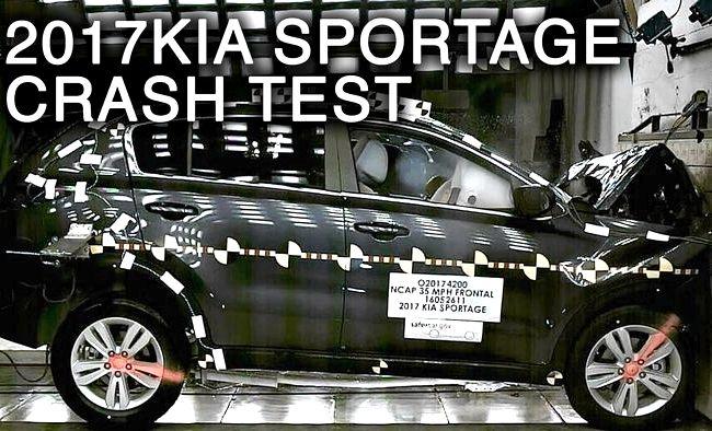 Киа Спортейдж краш тест