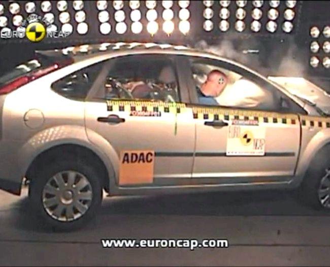 Краш тест Форд Фокус 2 Рестайлинг По Вашей логике получается сталкиваются