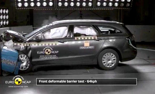 Краш тест Форд Фокус 2