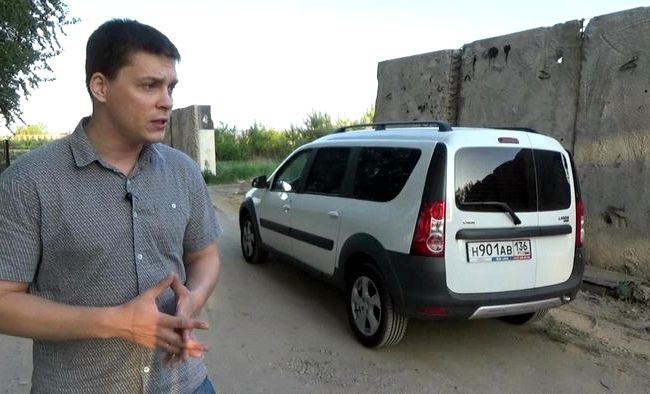 Лада Ларгус Кросс видео тест драйв