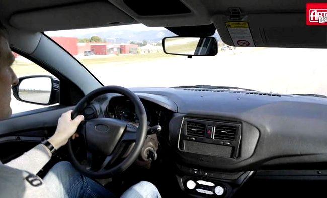 Лада Веста тест драйв видео