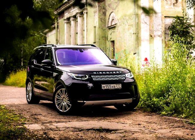Land Rover тест драйв