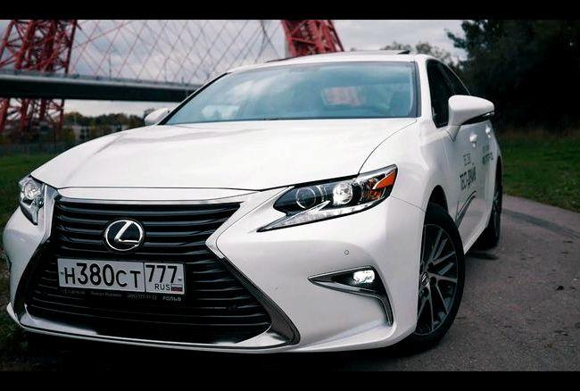 Lexus Es 250 тест драйв