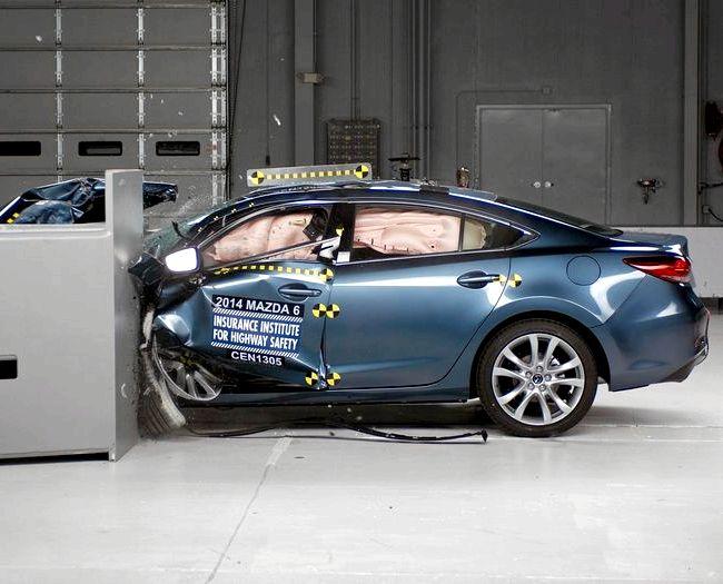 Mazda 6 краш тест