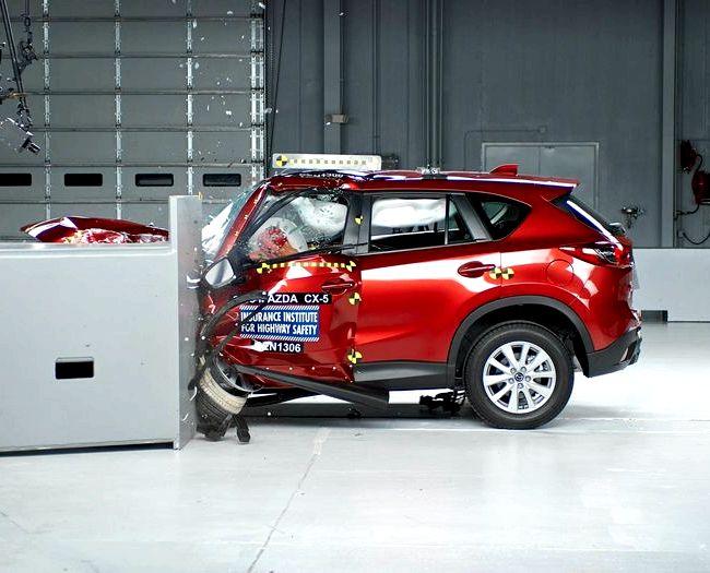 Mazda Cx 5 краш тест