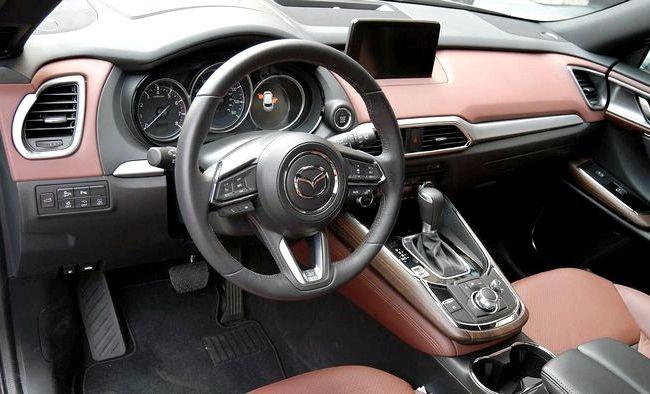 Mazda Cx 9 тест драйв наружных дверных ручках