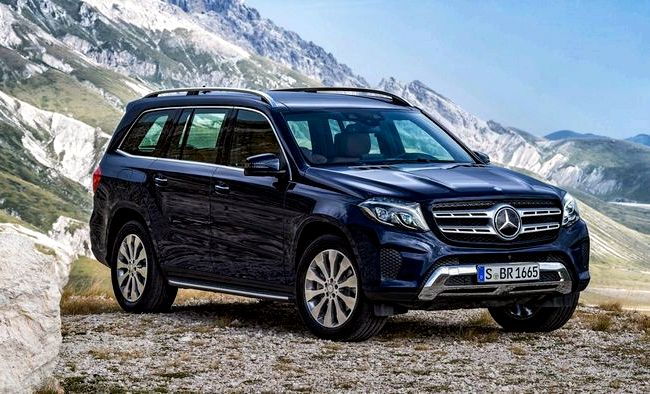 Mercedes Benz Gls тест драйв видео