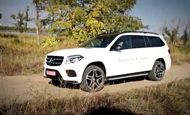 Mercedes Benz Gls тест драйв отличный результат