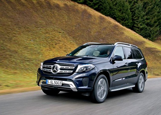 Mercedes Benz Gls тест драйв