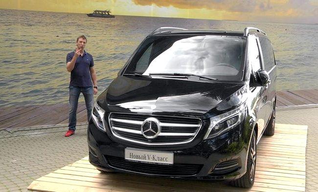 Mercedes Benz тест драйв информацию из внешнего мира узнаю